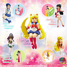 BANDAI GASHAPON DESKTOP SET 5 FIGURE SAILOR MOON MARS MERCURY VENUS JUPITER NEW