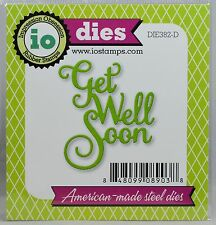 """""""FREE SHIPPING"""" Impression Obsession GET WELL SOON Die DIE382-D Card Making"""