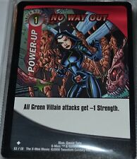 No Way Out # 63/131 X-Men Trading Playing Cards Games TCG Uncommon Xmen MINT
