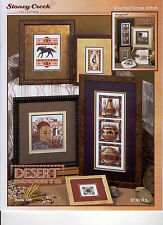Stoney Creek Desert Accents Bk 339 Cross Stitch Pattern Book
