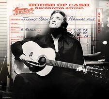 Johnny Cash House Of Cash Recording Studio 2 CD set LIKE NEW 2006 sony BMG