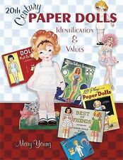 20th Century Paper Dolls by Mary Young 2005, UK Paperback Illustrated