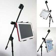 "ChargerCity Heavy Duty 7""-12"" Screen Size TABLET iPad Microphone Mic Stand Mount"