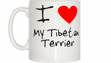 I Love Heart My Tibetan Terrier Mug