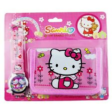 Pack CARTERA MONEDERO + RELOJ Hello Kitty   -  A1211
