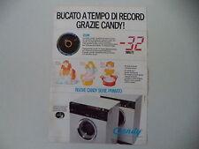 advertising Pubblicità 1978 LAVATRICE CANDY SERIE PRIMATO
