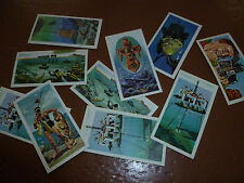 Brooke Bond Tea Cards THE SEA - OUR OTHER WORLD Collection Inventors Inventions
