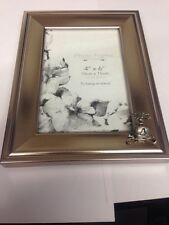 C5 Hood PICTURE FRAME SILVER EMBLEM 6X4 , 4x6  HANG OR STAND