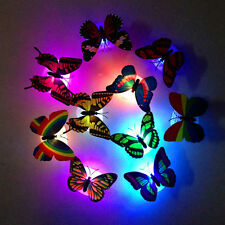 3D Cambio de color Mariposa LED Lamparilla Sala principal Mesa Pared Fiesta