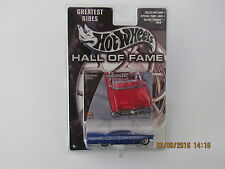 Hot Wheels 2003 HALL OF FAME 1959 CADILLAC RUBBER TIRES GREATEST RIDES CARS B-KK