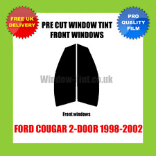 FORD COUGAR 2-DOOR 1998-2002 FRONT PRE CUT WINDOW TINT KIT