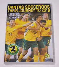 Qantas Socceroos Their Journey To 2010 World Cup 2 Disk DVD New