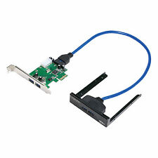Logilink PCI Express mapa, 2x USB 3.0 incl. panel frontal pc0058