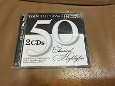 Essential Classics 50 Classical Highlights 2 Cds (2002, St. Clair) Canada Import