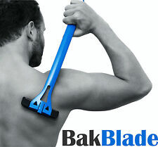 Bakblade Mens DIY Easy to Use on Back Hair Remover Shaver Razor Hairy Backs NEW