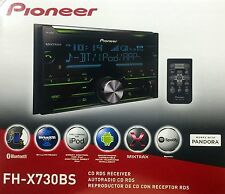 NEW Pioneer FH-X730BS Double-DIN Car Audio Stereo w/ Bluetooth