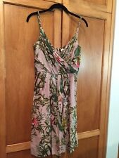 Isabel Marant Etoile SZ FR 36/US 4 Pink Floral WElBY Mini Slip Dress