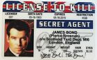 Pierce Brosnan / James Bond - License To Kill - Drivers License - Novelty