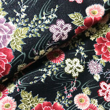 [ON SALE]1/2YD Oriental Asian Japanese Style kimono  fabric sewing - #04