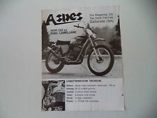 advertising Pubblicità 1974 MOTO ASPES HOPI 125 RGEL LAMELLARE