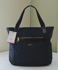 Kipling Work TM5298 True Blue Patent Leah Tote Carry All