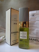CHANEL No19 EDT 100ml 3.38z NEW VINTAGE 1980s NOT A1 BOX SMELLS BEYOND BEAUTIFUL