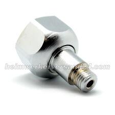 CO2 Adapter für Druckminderer M10x1 Einweg auf Mehrwegflasche Neu