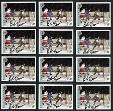 Bob Nevin #26 signed autograph auto 1992 Ultimate Original Six Hockey Cards (12)