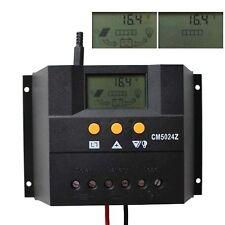 50a Regolatore Solare Charge Controller 12v 24v Auto Pannello Solare 1200w cm5024z