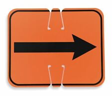 "CORTINA 03-550-2WA - ABS Plastic Traffic Cone Sign ""REVERSIBLE ARROW"" 11"" x 13"""