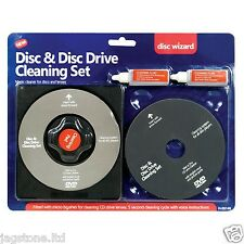Disque CD / DVD LENS CLEANER / nettoyage set Tor ordinateur portable ps2 ps3 ps4 wii xbox
