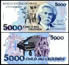 Brazil - 5000 Cruzeiros - UNC currency note - 1992 issue