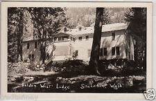 RPPC - Stehekin, Washington - Golden West Lodge - 1950s era