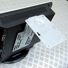 FLATSCREEN TV HINGED SUPPORT BRACKET LED LCD up to 8kg MOTORHOME CARAVAN BOAT