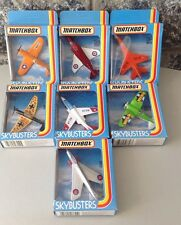 1981#Matchbox Sky Busters Diecast Aircraft Skybusters 7 MOC models