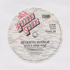 SEVENTH AVENUE ~ Love's gone mad ~1986 7""