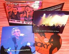 U2 AN ELECTRIC COMPANY AT ROXY CD Live at The West Hollywood CA May 28 2015 RARE