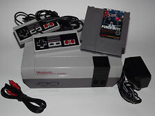 NINTENDO NES SYSTEM CONSOLE WITH GUARANTEE, NEW 72 PIN & MIKE TYSON PUNCHOUT