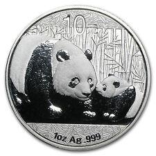 2011 1 oz Silver Chinese Panda Coin - SKU #59982