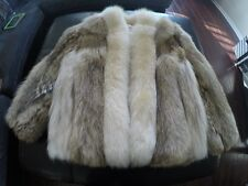 Coyote Fur Coat Size Large