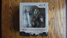 Darksiders War & Chaoseater Promo Bonus Figure - rare promotional statue -