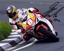 Guy Martin Signed 2009 Isle of Man TT 16 x 12 picture & we can show you proof