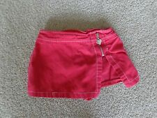 COLOR CIRCUIT GIRLS WEAR SQUIRT RED SIZE S- 4T WITH HEART ZIPPER IN FRONT