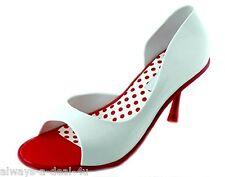 Melissa Spice Grendene Red & White Brazilian Women's Shoes Size 11