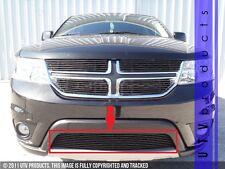 GTG 2011 - 2016 Dodge Journey R/T / SXT 1PC Gloss Black Bumper Billet Grille