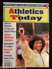 ATHLETICS TODAY - FATIMA WHITBREAD INTERVIEW - JAN 23 1992
