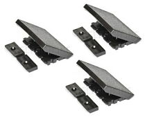 3-Pack of Replacement Latches for Gibson Protector Guitar Case, Black, Les