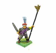 WARHAMMER FANTASY ARMY EMPIRE CHARACTER PAINTED AND BASED