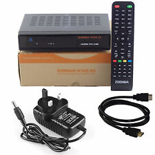 Zgemma 2S DUAL CORE HD Twin Tuner Satellite Receiver DVB-S2 Free To Air IPTV