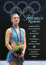 Joannie Rochette (CAN) 3.OS Vancouver 2010 Eistanz original signiert/signed !!!